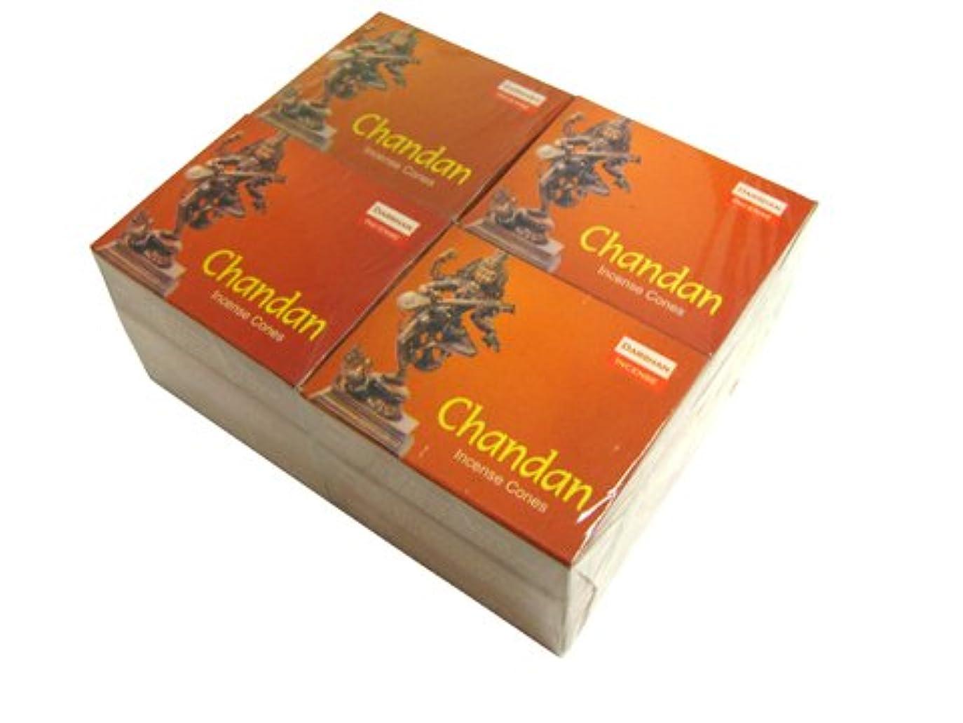 かどうか乙女気がついてDARSHAN(ダルシャン) チャンダン香 コーンタイプ CHANDAN CORN 12箱セット