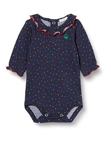 United Colors of Benetton 3AODMB104 Tnica de Enfermera, Azul 60d, 68 cm para Bebés