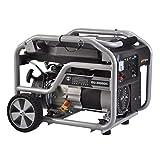 HIOD Grupo Electrógeno de Emergencia Portátil Mini Generador de Gasolina 3000w, 230v, 1 Fase, 1 Cilindro, 4 Tiempos, Correr 7h