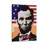 QIANCHANG Präsident Abraham Lincoln Poster Wandkunstdrucke