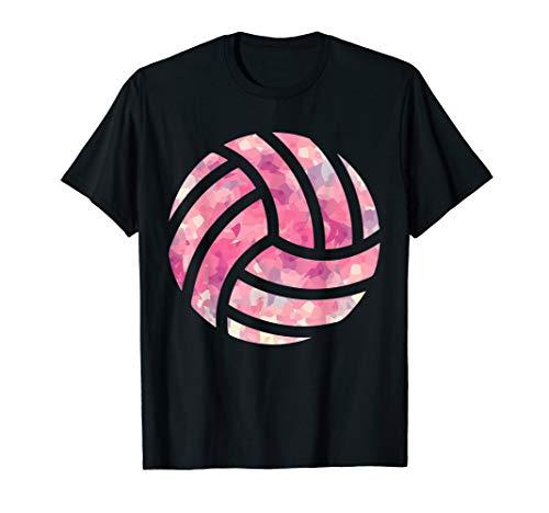 Pinker Volleyball - Volleyballteam Volleyballspielerin T-Shirt