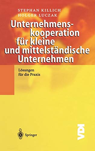 Unternehmenskooperation für kleine und mittelständische Unternehmen: Lösungen für die Praxis (VDI-Buch)