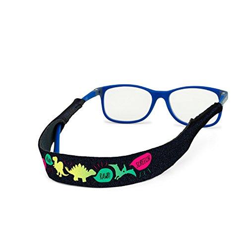 Croakies Kids Eyewear Retainer, RAWWWR!, 13 Inch x 3/4 Inch