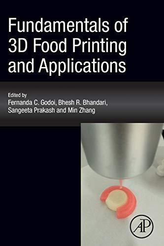 Fundamentals of 3D Food Printing and Applications