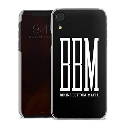 DeinDesign Hard Case kompatibel mit Apple iPhone Xr Schutzhülle transparent Smartphone Backcover Spongebozz Bikini Bottom Mafia YouTube