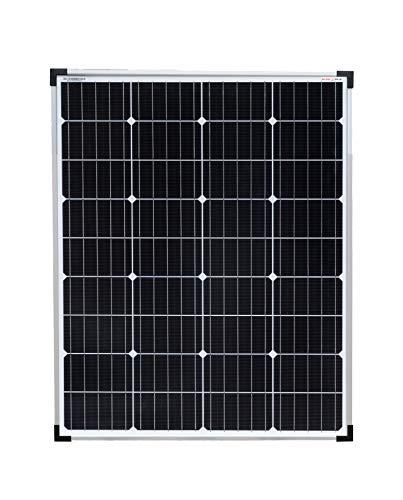enjoysolar hochwertiges Monokristallines Solarpanel 100W Solarmodul ideal f. 12V PV-System