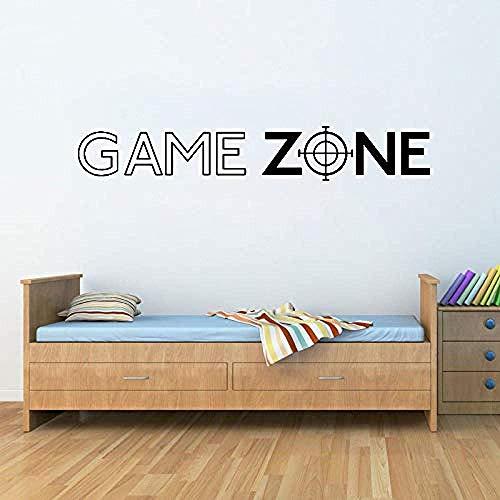 Muurstickers muurschilderingen Stickers Game Zone Spelen Ps3 Ps4 Aanbieding Deur Huis Vinyl Speler Slaapkamer 57X19cm