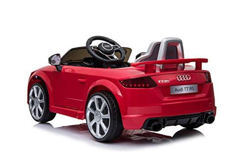 RC Auto kaufen Kinderauto Bild 2: Toyas Audi TTRS Cabrio Kinder Auto Kinder Elektroauto Kinderfahrzeug 12V Akku USB MP3 Rot*