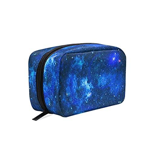 BOLOL Galaxy Space Bolsa de maquillaje neceser bolsa de aseo grande bolsa de viaje para mujeres y niñas, bolsa de almacenamiento portátil Nebulosa bolsa de almacenamiento bolsa bolsa bolsa bolsa