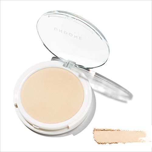 2-in-1 Prime + Set Under/Over Lightweight Powder - UNDONE BEAUTY Under/Over Powder. For Priming & Setting. Oil Control for Shine Free, Naked-Skin Finish. Vegan & Cruelty Free. LIGHT