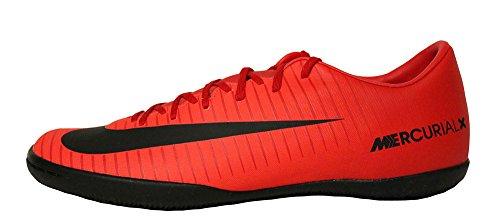 Nike Herren Mercurial Victory VI IC Fußballschuhe, Mehrfarbig (University Red/Black-Bright Cr), 47.5 EU