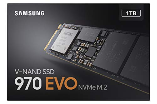 Samsung Memorie MZ-V7E1T0 970 EVO SSD Interno da 1 TB, Pcle NVMe M.2