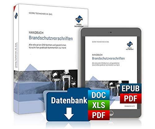 Handbuch Brandschutzvorschriften: Premium-Ausgabe