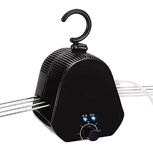 Secador de Perchas eléctrico Ropa portátil Shose A Secadora Mini hogar Calzado...