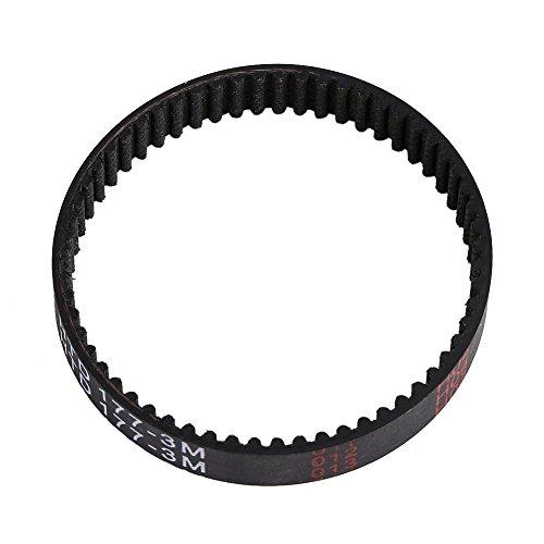 Correa Dentada de Recambio para Lijadora, Ancho 9 mm, Correa de Distribución para Black & Decker KW715, KW713, BD713