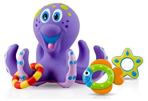Nuby Octopus Floating Bath Toy   Purple