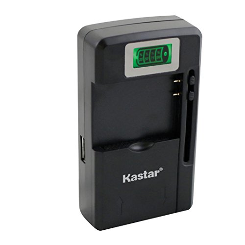 Price comparison product image Kastar Intelligent Mini Travel Charger (with High Speed Portable USB Charge Function) for PDA Camera Li-ion Battery Digital Cameras Mp3 Mp4 Players Hand Held Gaming Devices PDAs,  Z Cam E1 Camera