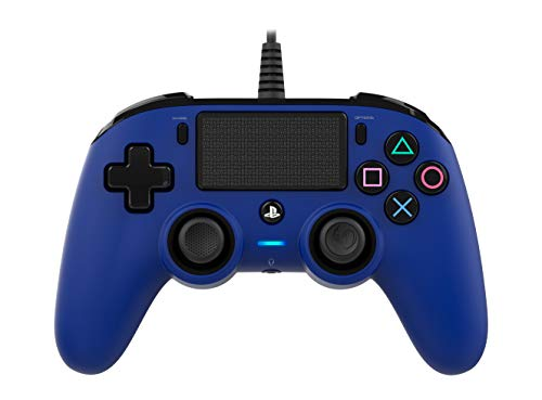 Nacon Compact Controller PS4 Ufficiale Sony PlayStation, Blue