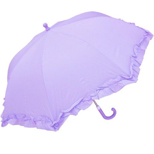 RainStoppers Girl's Umbrella, Lilac, 34-Inch, W102CHPLIL