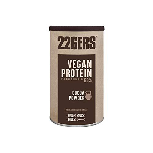226ERS Vegan Protein | Proteína Vegana en Polvo 100% Vegetal | Arroz + Guisantes + Soja | Sin Gluten y Sin Lactosa, Chocolate - 700 gr