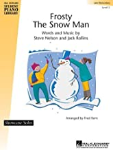 Frosty the Snowman: Level 3 Sheet Music : Piano (Educational Piano Library)