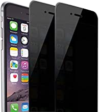 iPhone 8 Plus iPhone 7 Plus Privacy Screen Protector, Asstar Tempered Glass Scratch-Resistant 9H Hardness Crystal Clear Bubble Free Screen Protector for Apple iPhone 7 Plus, 8 Plus (2 Privacy)