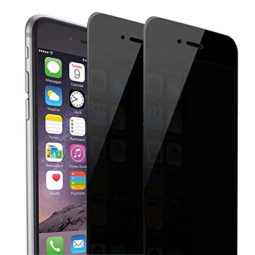 iPhone 8 Plus iPhone 7 Plus Privacy Screen Protector, Asstar Tempered Glass Scratch-Resistant 9H...