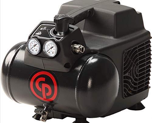 Chicago Pneumatic HCP-1116-1.5 HP 120 Volt Electric 1.6 Gallon Horizontal Air Compressor Max 115 PSI