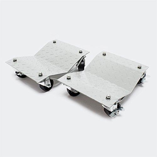 Carrelli sposta auto carrello posizionatore per parcheggio veicoli 680kg ciascuno