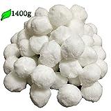 Hengda 1400g Filter Balls Filtermaterial Filterbälle ersetzen 50 kg Filtersand für Pool Sandfilter