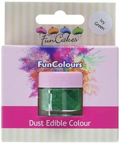 FunCakes Edible FunColours Dust - Ivy grün (1 g)