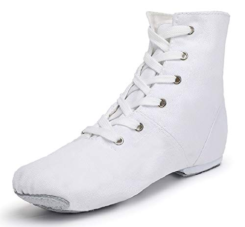 Smithmelody Canvas Jazz Dance Boots Ballet Dancing Sneakers for Adult...