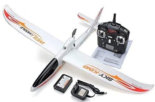 s-idee 01654 F959 Sky King - Avión teledirigido con tecnología de 2,4 GHz con batería de polímero de litio