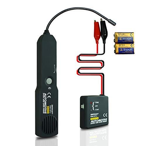 allsun Pro Automotive Short and Open Finder Circuit Tester Wire Tracker Circuit Finder DC 6-42 V Short Circuit Detector Short Detector tool Power Probe Short Finder