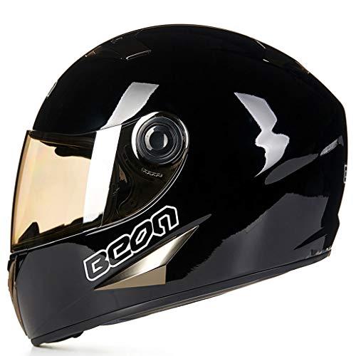 Casque moto moto sport locomotive hommes et femmes casque (Couleur : C-L(57-58cm))