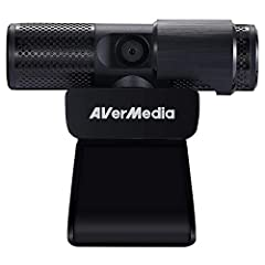 Plug and play USB webcam with 2 built-in microphones (mono). Exclusive camera effects/ filters powered by AI facial tracking. 360-Degree swivel design makes calling and recording easier at any angle. Built-in privacy shutter to keep you safe from any...