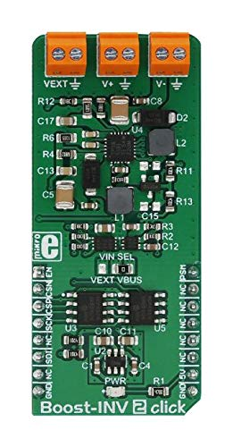 Amazing Deal MIKROE-3123 - BOOST-INV 2 CLICK BOARD (Pack of 2) (MIKROE-3123)