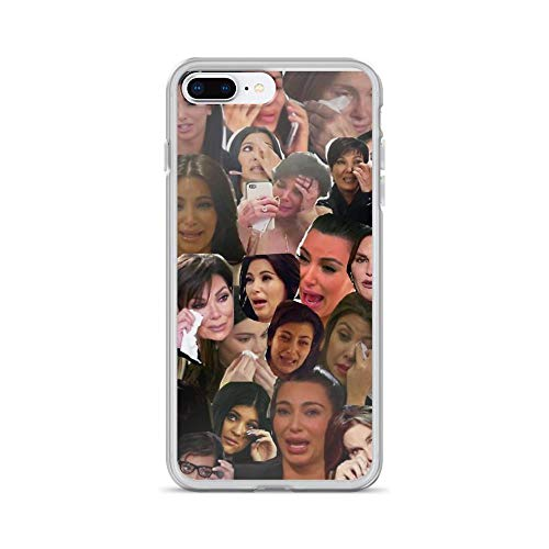 iPhone 7 Plus/8 Plus Pure Clear Case Cases Cover Kardashian's Crying Collage