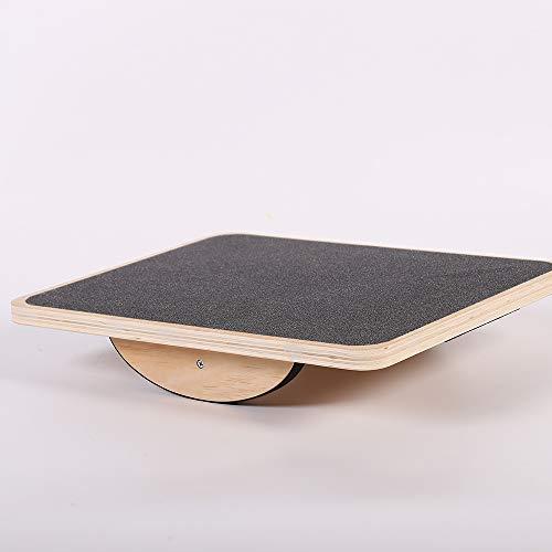 ANN Balance Board Holz Wackelbrett Gleichgewichtsbrett,rutschfeste Oberfläche,Trainiert Gleichgewicht Und Koordination,für Propriozeptives Training