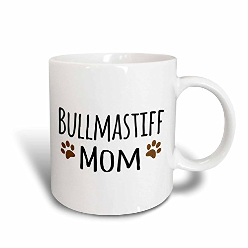 3drose3drose Mug 154089 6 Bullmastiff Dog Mom Doggie By Breed Brown Muddy Paw Print Love Doggy Lover Proud Pet Owner Two Tone Blue Mug 11oz Dailymail