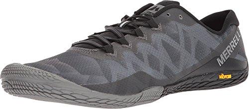 Merrell Men's Vapor Glove 3 Sneaker, Black/Silver, 11 M US