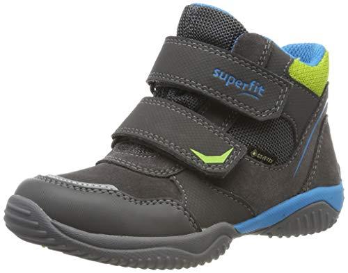 Superfit Jungen Storm Gore-Tex 509385 Hohe Sneaker, Grau (Grau/Blau 20), 37 EU