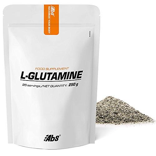 L-GLUTAMINA EN POLVO * 25 raciones / 250 g * Recuperación después del ejercicio físico, sistema inmune, dolor muscular * Garantía de satisfacción o reembolso * Fabricado en Francia