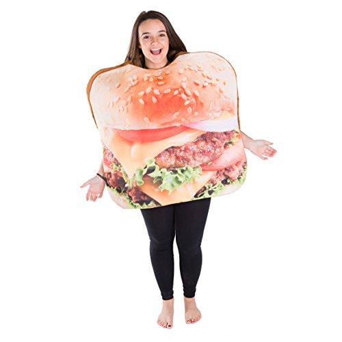 Bodysocks® Disfraz de Hamburguesa Adulto