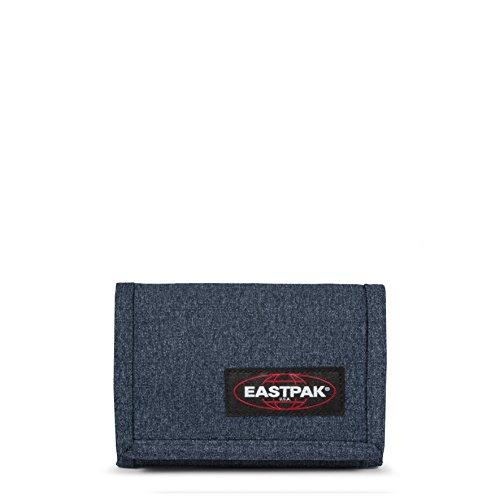 Eastpak Portafoglio singolo, 13 cm, blu (doppio denim)