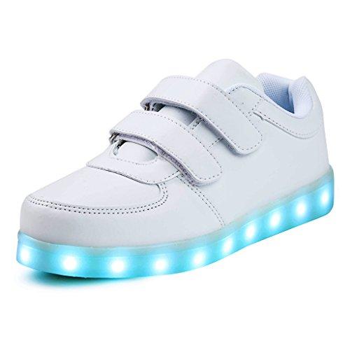 Saguaro Unisex Niños USB Carga LED Luz...