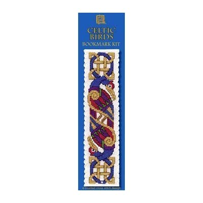 Textile Heritage Collection Cross Stitch Bookmark Kit Celtic Cross