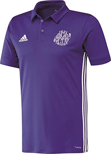 adidas Om 3 JSY Camiseta de Equipación de Línea Olympique de Marsella,...