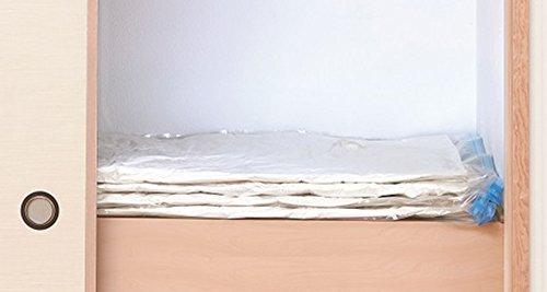 アール衣類圧縮袋防虫+ダニ退治大きなふとん用圧縮袋2枚入DD-102