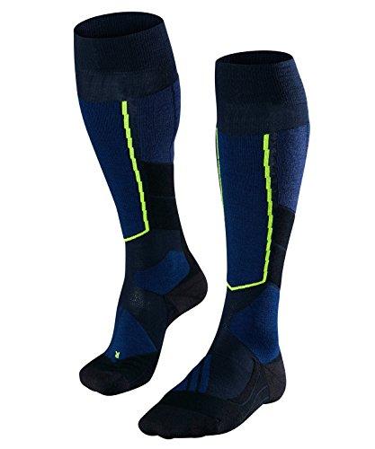 Falke Calcetines de esquí para Hombre ST 4 Lana para Hombre, otoño/Invierno, Hombre, Color Azul - Marine, tamaño 46-48
